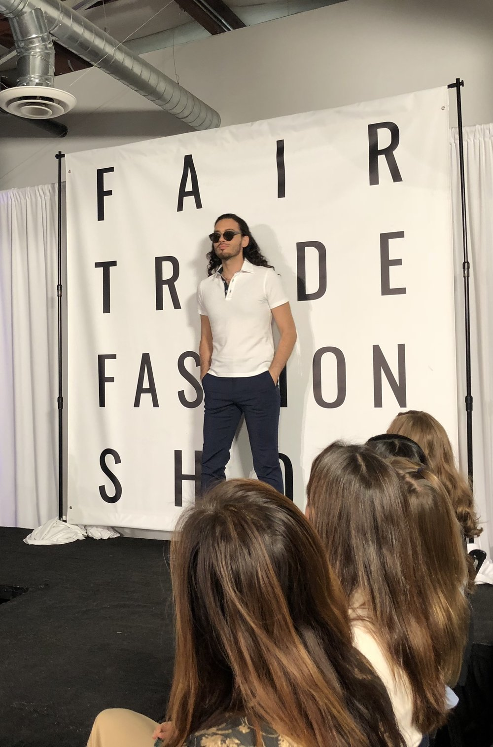 Fair Trade Fashion Show Men's Style