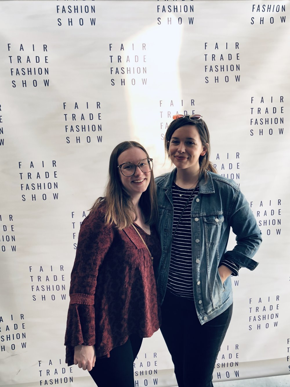 Ethical Fashion Blogger at the Fair Trade Fashion Show