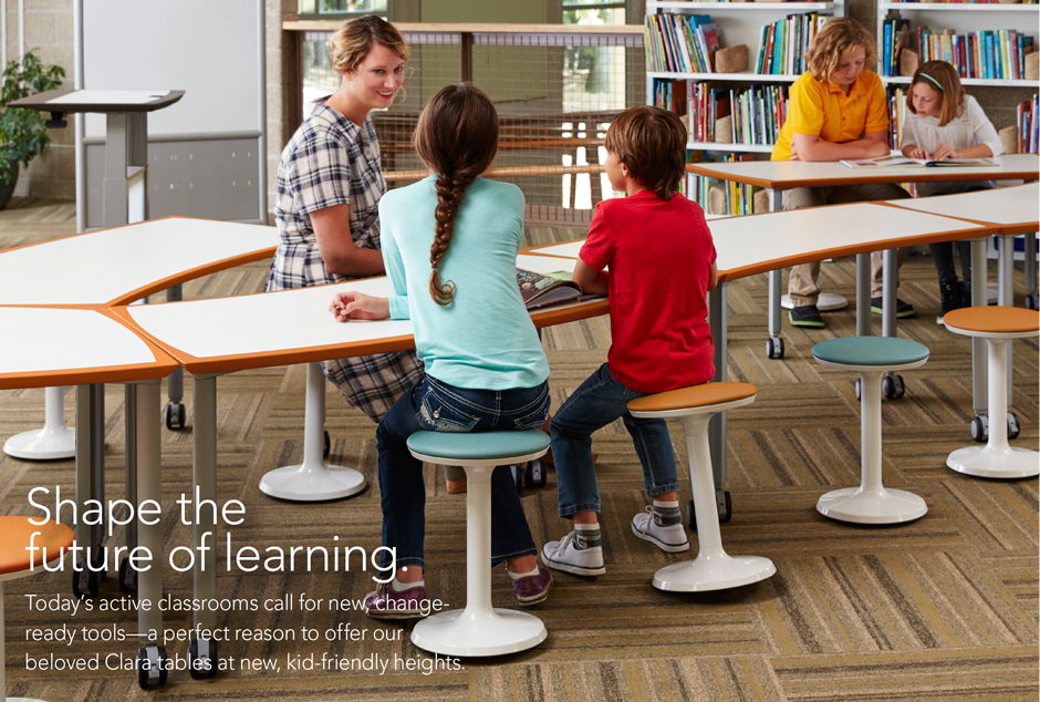 Did You Know That We Also Provide Educational Furniture Solutions? We Are  Loving The Clara Line From Izzy+. There Are So Many Creative Ways To Set Up  This ...