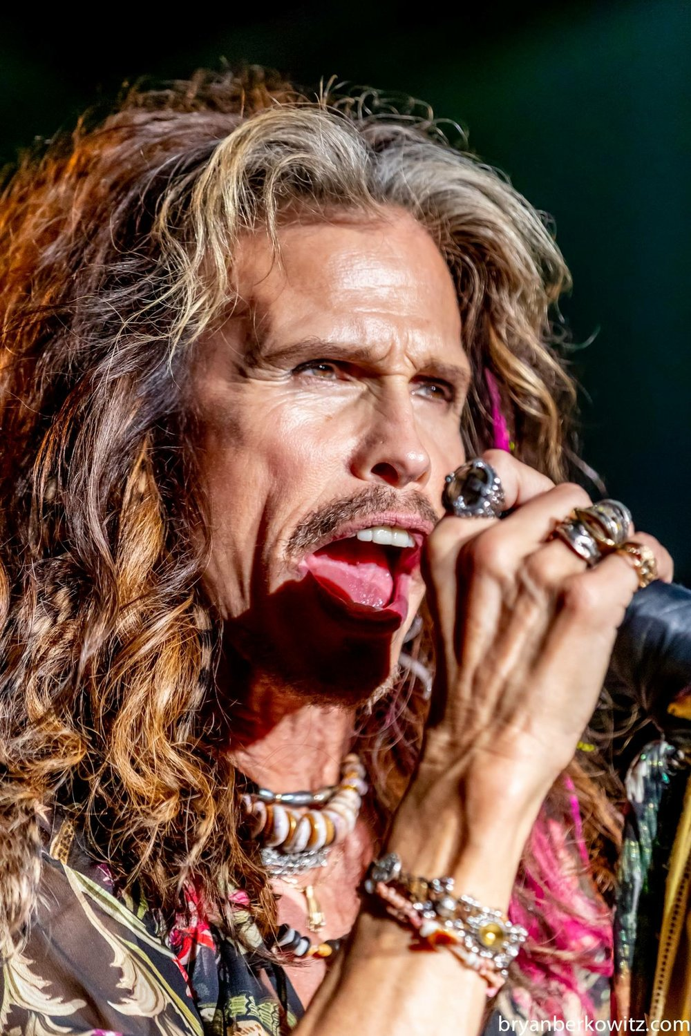 Pukas and Keshi Luxe Choker on Steven Tyler