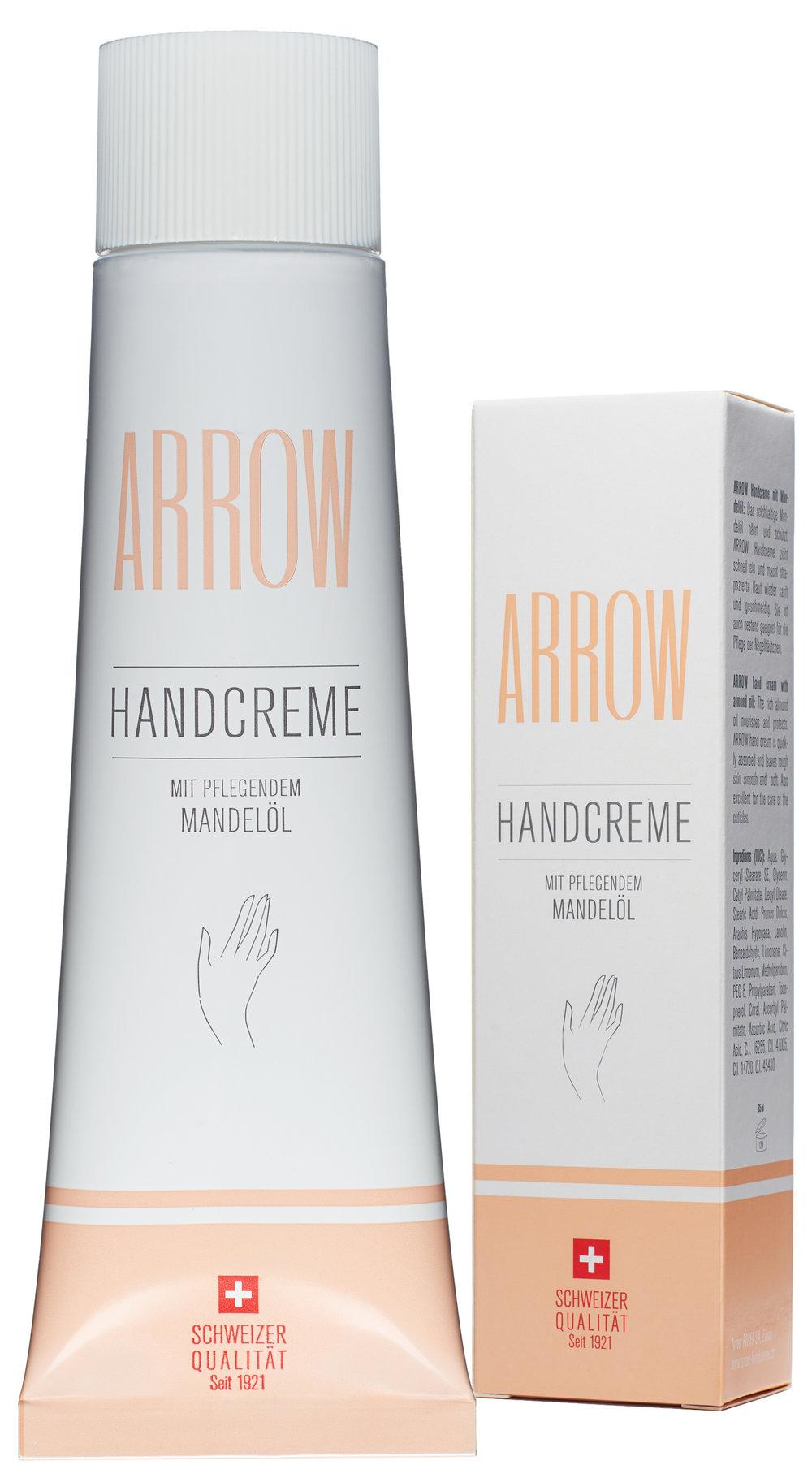 ARROW Handcreme mit pflegendem Mandelöl
