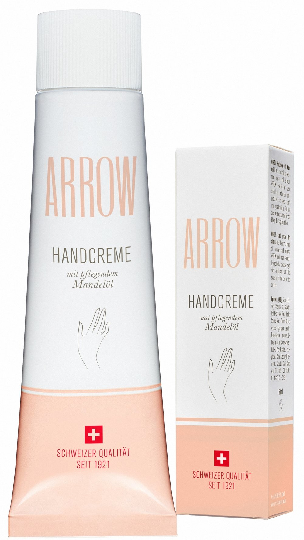 ARROW Handcreme mit pflegendem Mandelöl