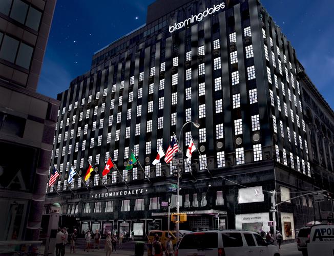 Bloomingdales 59th Street NYC MARN ALBANO