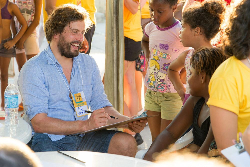 Transform Film & Literature: FLUPP Literary Festival for the Favela Communities © Sambacine