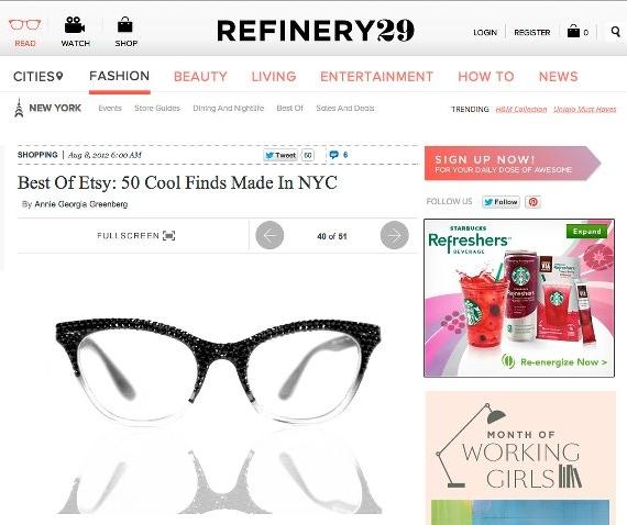REFINERY 29 X MATERIAL MEMORIE