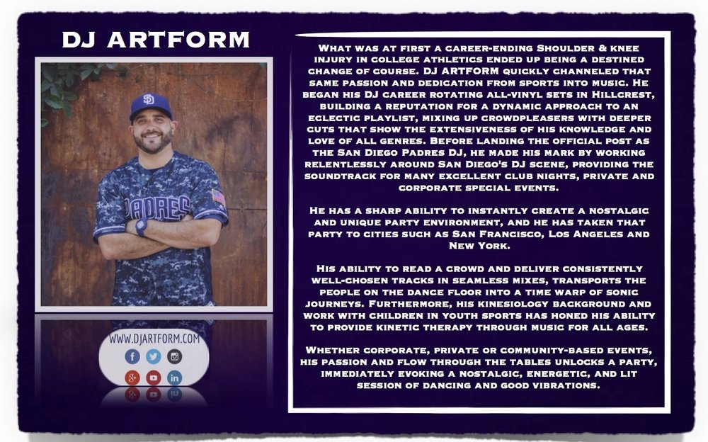DJ Artform's Bio