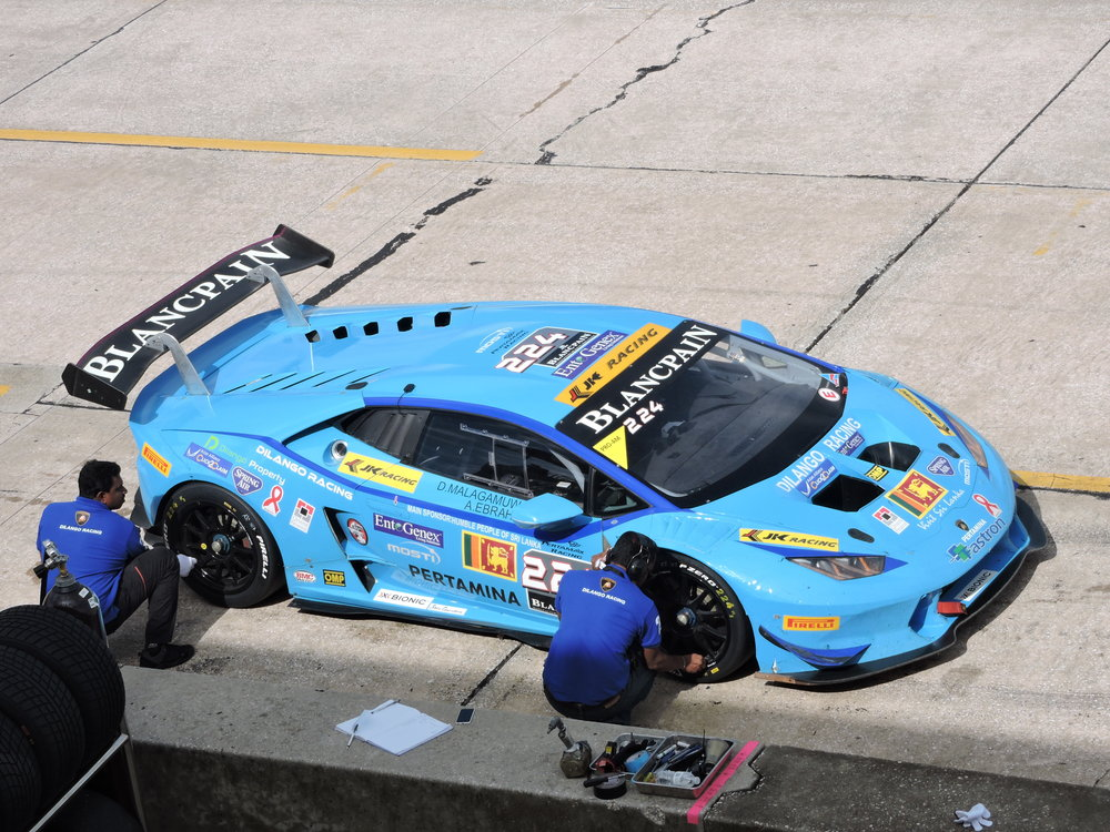 lamborghini super trofeo 2016 sebring race