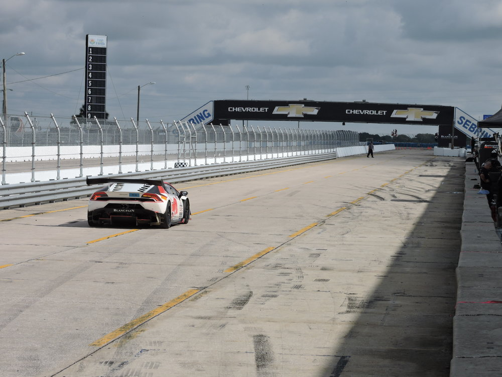 lamborghini super trofeo end of race sebring
