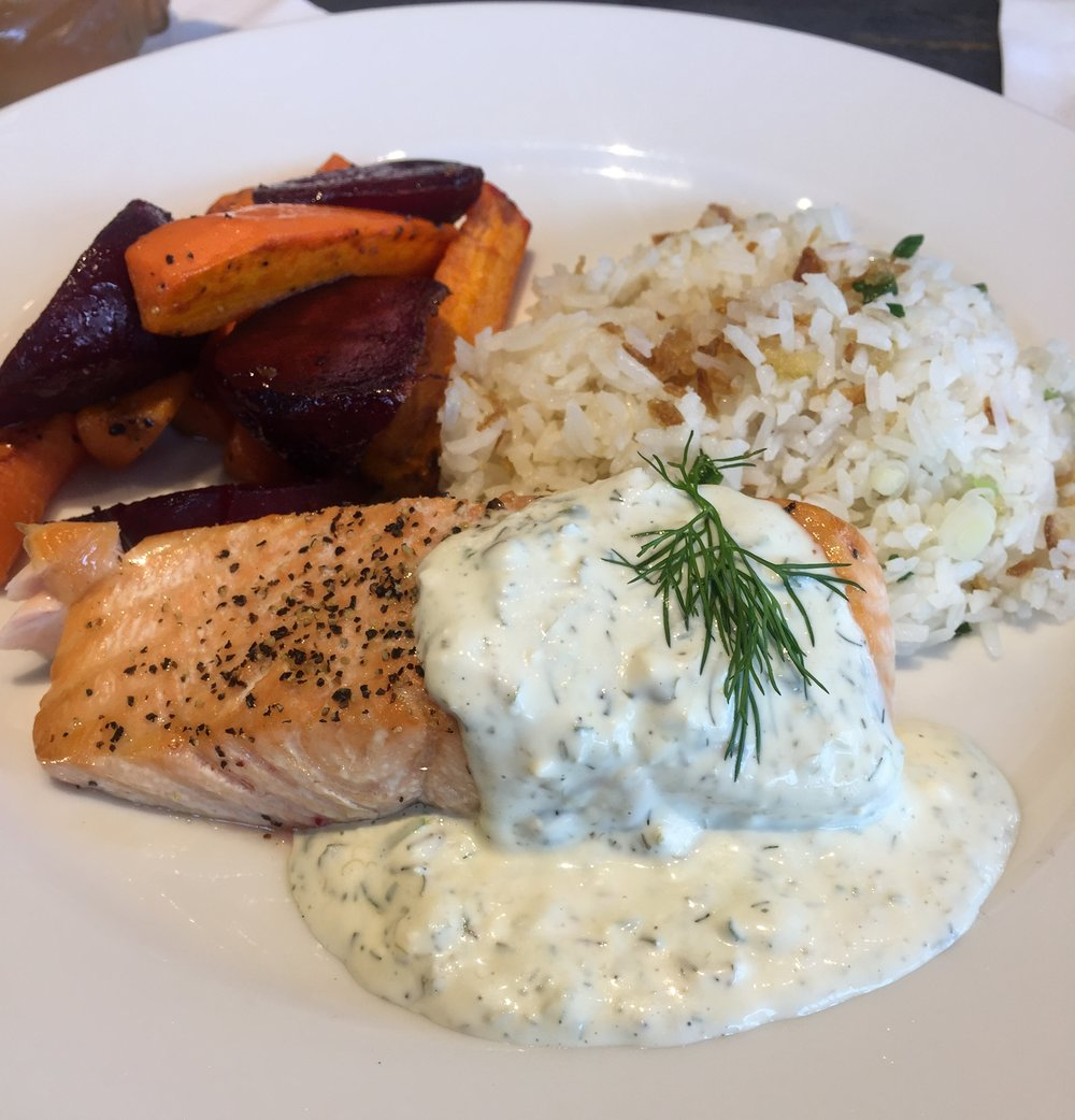 Earls Kitchen and Bar Atlantic Salmon