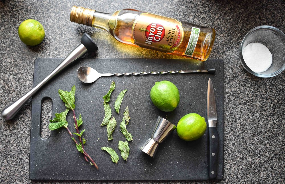 havana club rum mojito with dark rum food blog gregsstyleguide greg mcgregorson