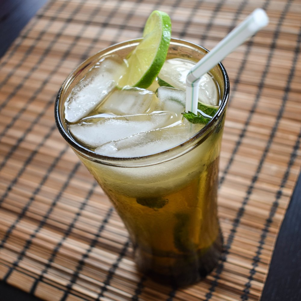 mojito with dark rum food blog gregsstyleguide greg mcgregorson