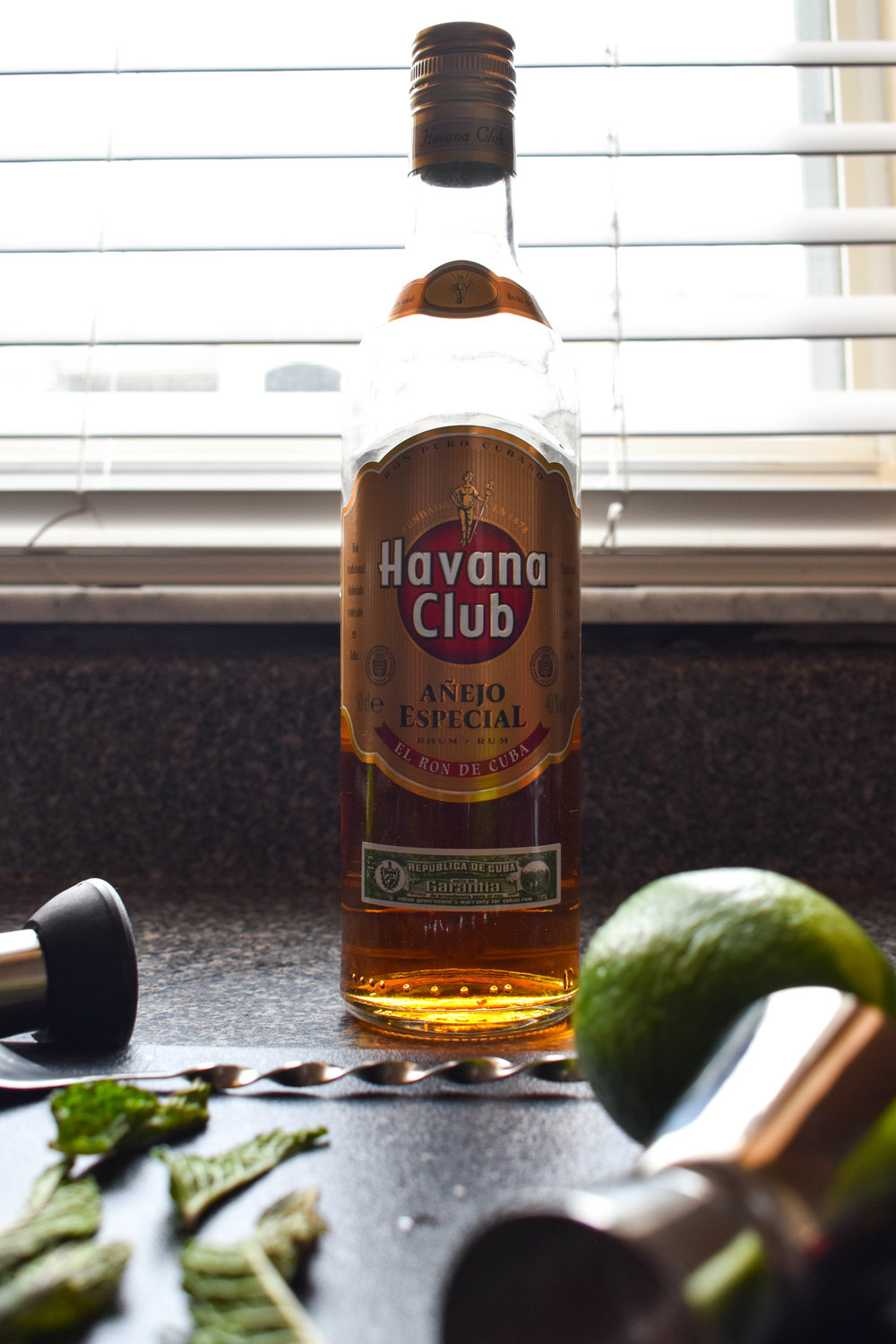 havana club rum mojito with dark rum cocktails
