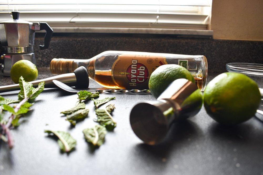 havana club rum mojito with dark rum food blog gregsstyleguide