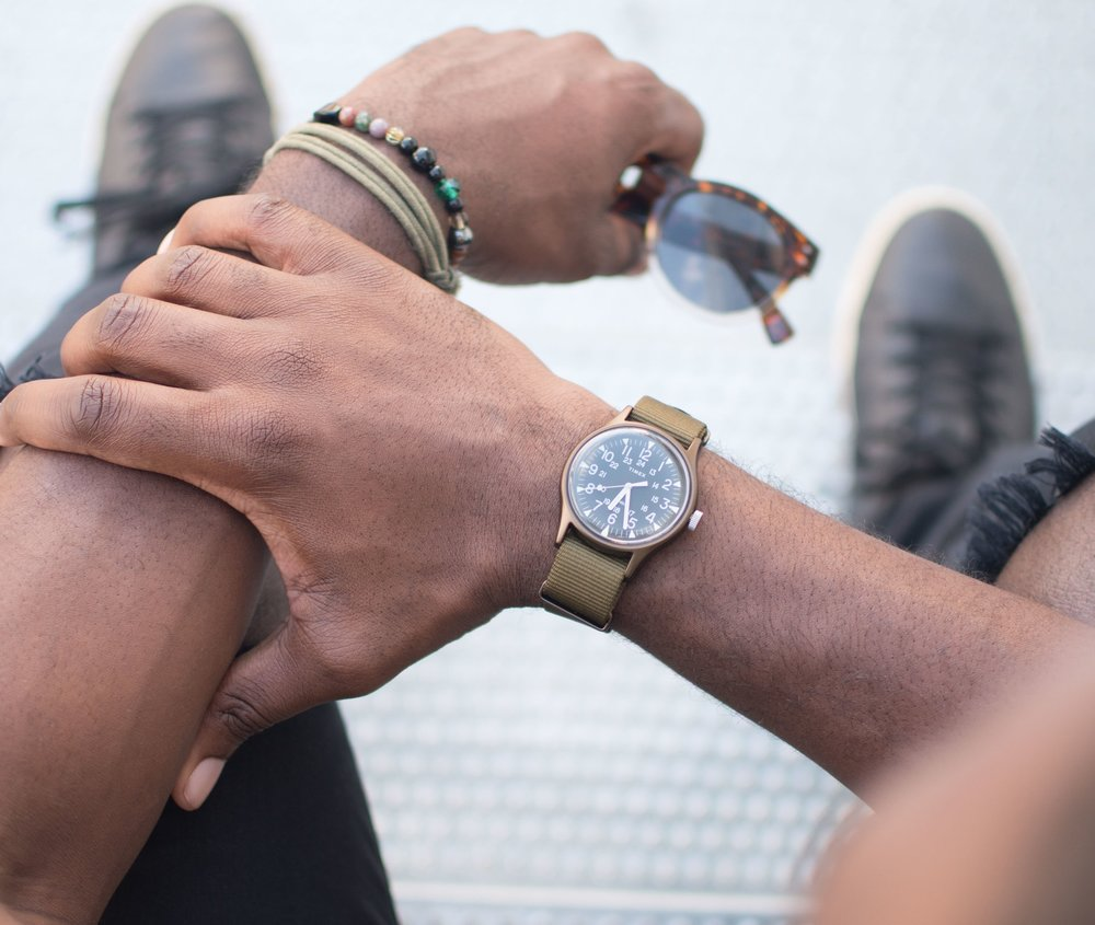 #TakeTime  to cherish those moments when you crush all the details of your look!  @Timex  Watch with the Nylon Slip-Thru Strap 🙌