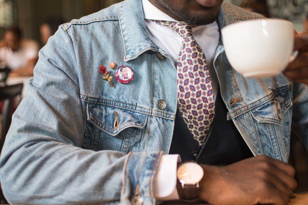 Denim Jacket style details