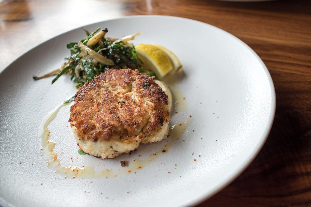Luke's Kitchen and Bar Crabcake