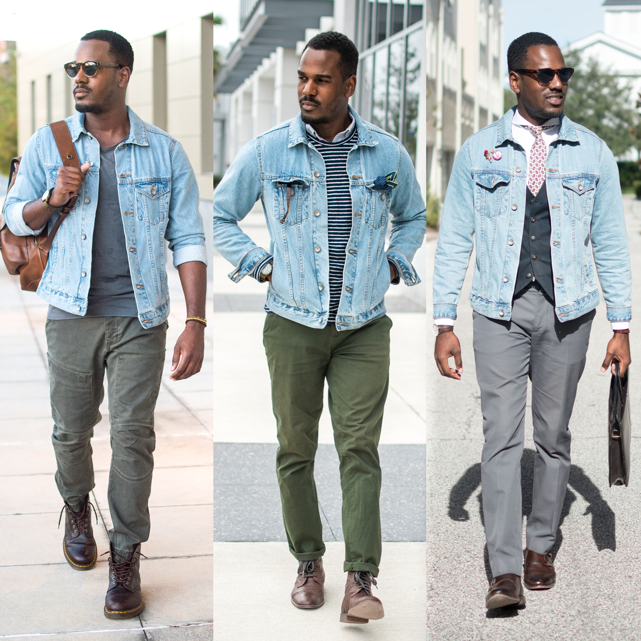 a58207e30b5 How to Wear a Denim Jacket (3 Easy Ways) — Greg's Style Guide
