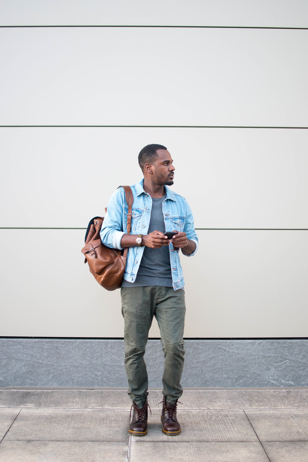 How To Wear A Denim Jacket 3 Easy Ways Greg S Style Guide