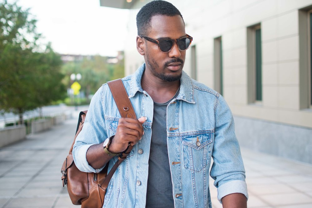 b70ece6ba4e How to Wear a Denim Jacket (3 Easy Ways) — Greg s Style Guide