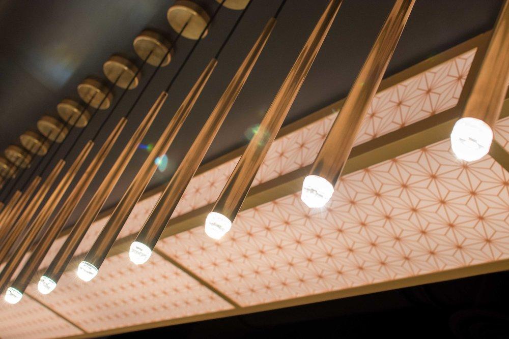 the glass knife lighting interior decor