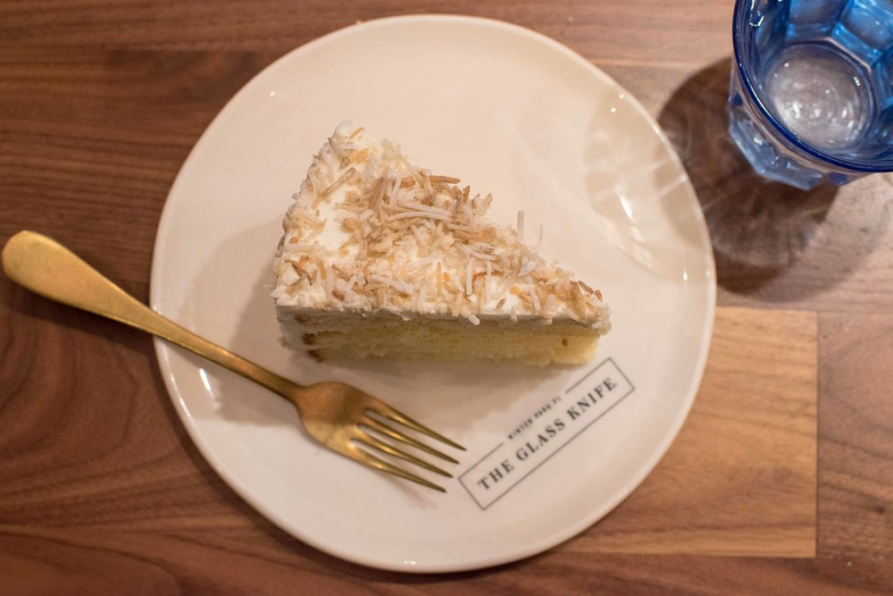 the glass knife winter park orlando bakery coconut cream cake