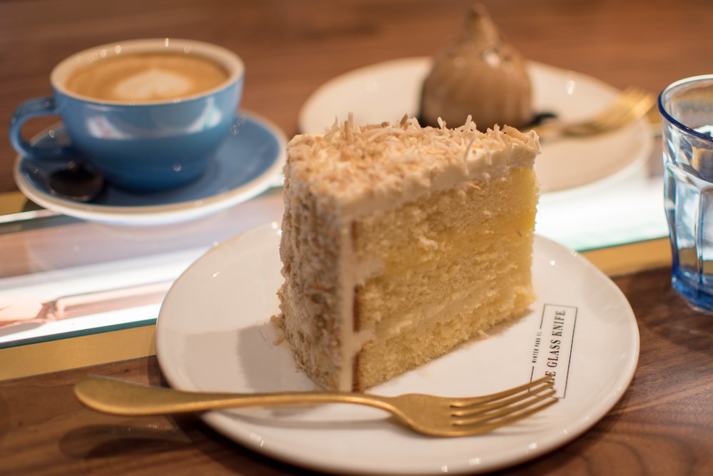the glass knife winter park orlando bakery coconut cream cake dessert