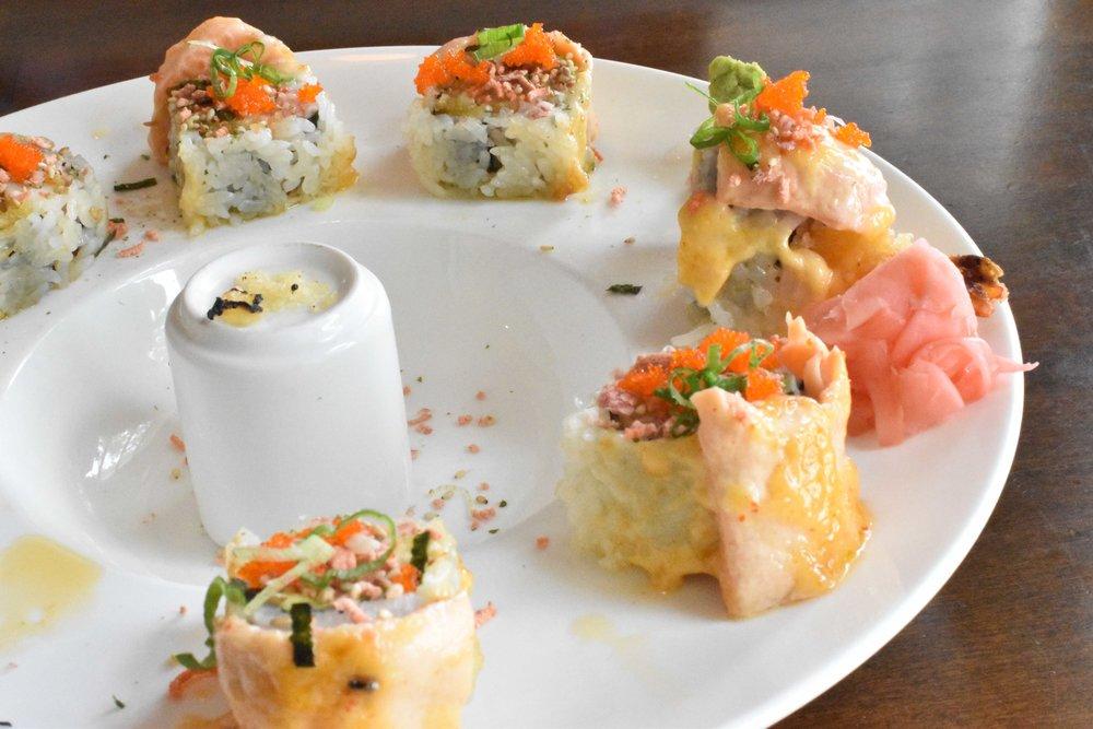 yamasan sushi harmony roll orlando foodie