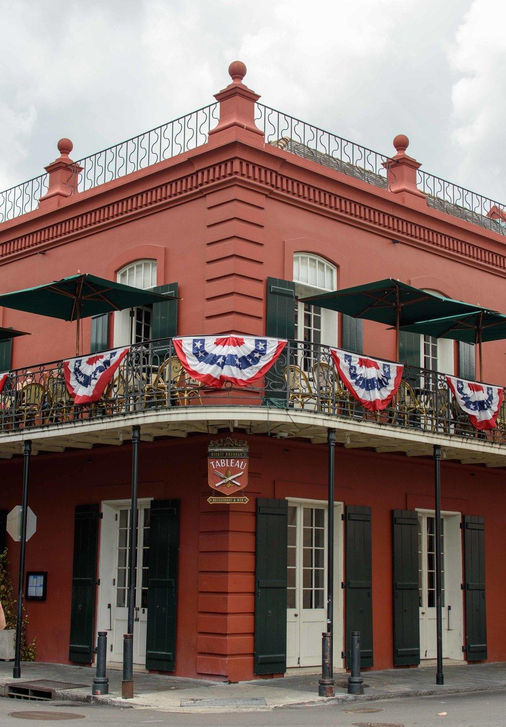 new orleans tableau restaurant travel