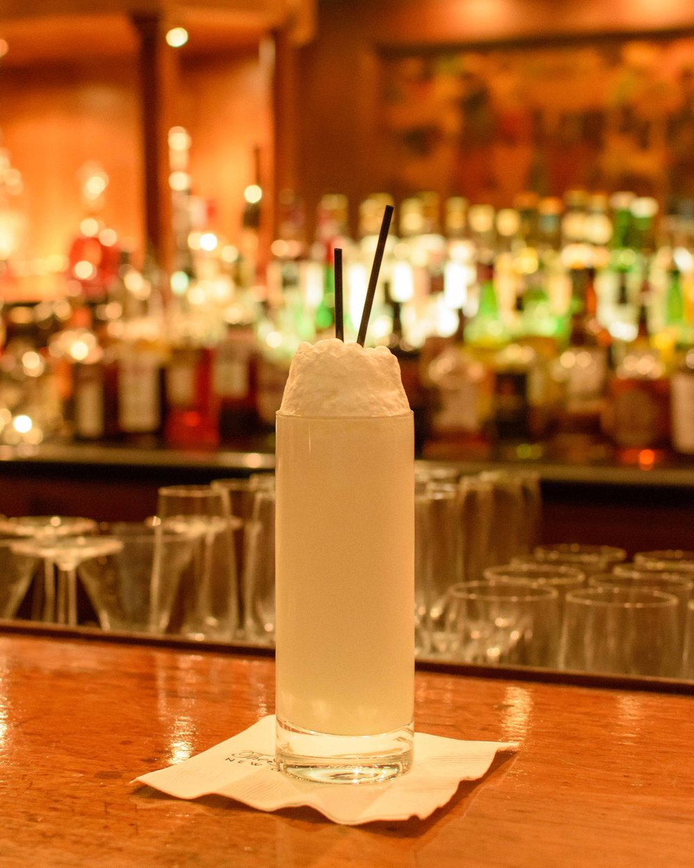 sazerac bar ramos gin fizz cocktail new orleans