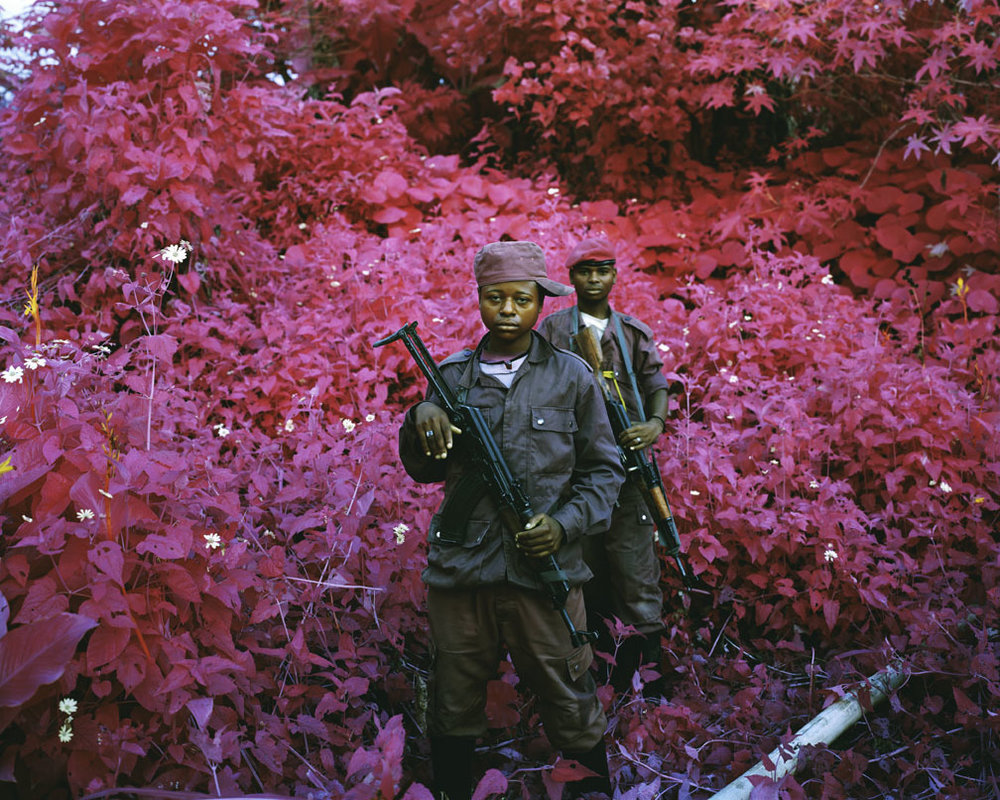Richard Mosse,  Man-Size , 2011.