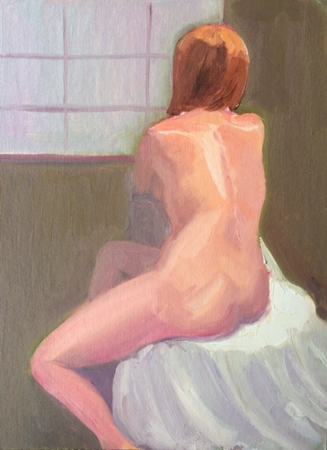 Nude In Front Of A Window