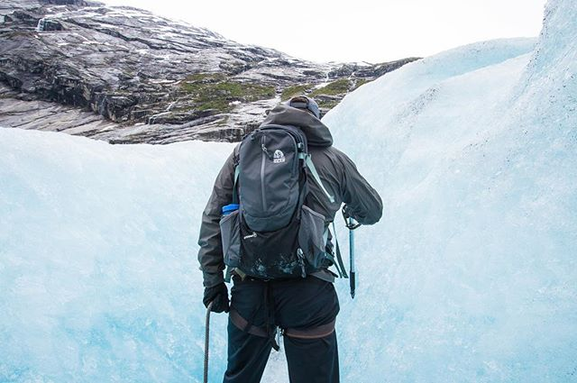 Nigardsbreen || Norway After a very dry and warm winter, Denver has a Winter Storm Warning. Fingers crossed for a big snow. Maybe we should bust out some cramp-ons and an ice axe and imagine we are back on the glacier! Loved our glacier hike in Norway.