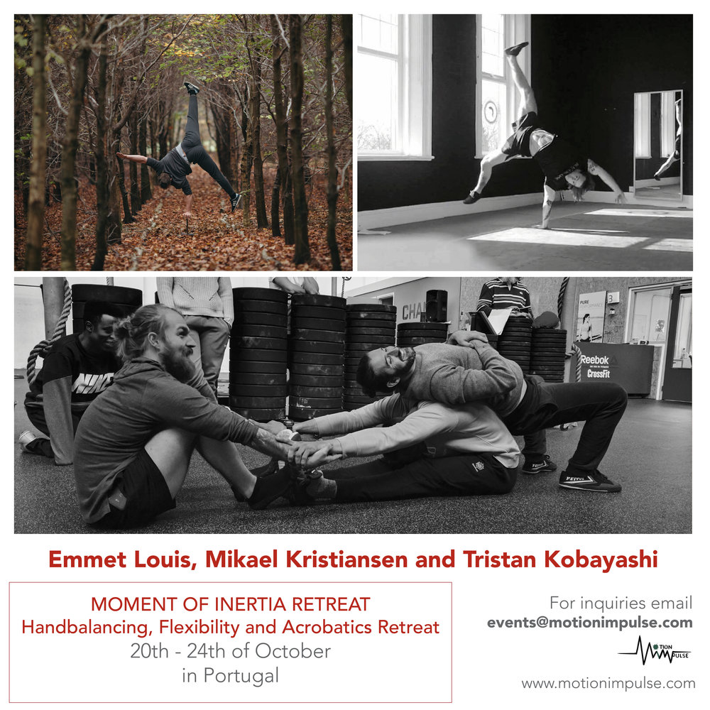 Motion Impulse presents:Moment of Inertia Retreat - Featuring Emmet Louis, Tristan Kobayashi and Mikael Kristiansen