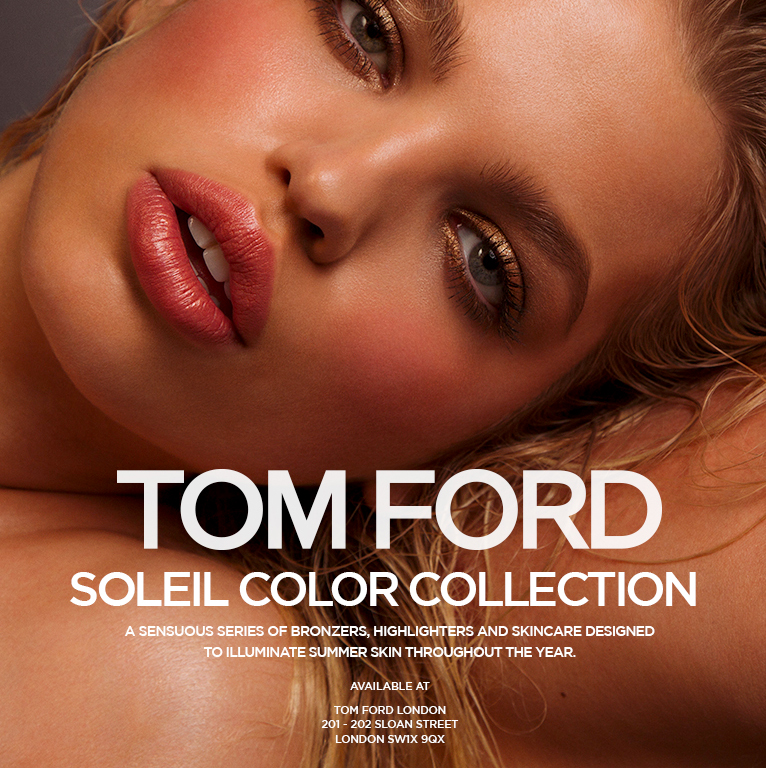 "TOM FORD   The following is placeholder text known as ""lorem ipsum,"" which is scrambled Latin used by designers to mimic real copy. Suspendisse nec congue purus. Donec eget risus diam. Quisque congue porttitor ullamcorper. Donec eget risus diam. Nulla eu pretium massa."