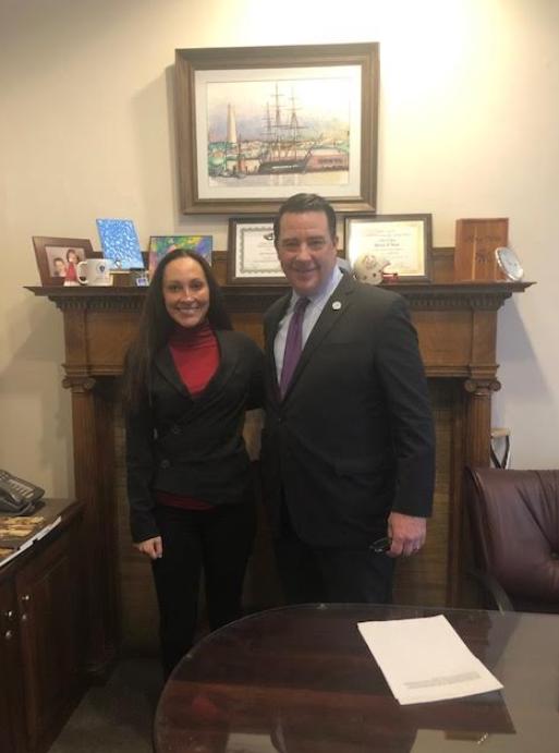 With Massachusetts State Representative, Dan Ryan