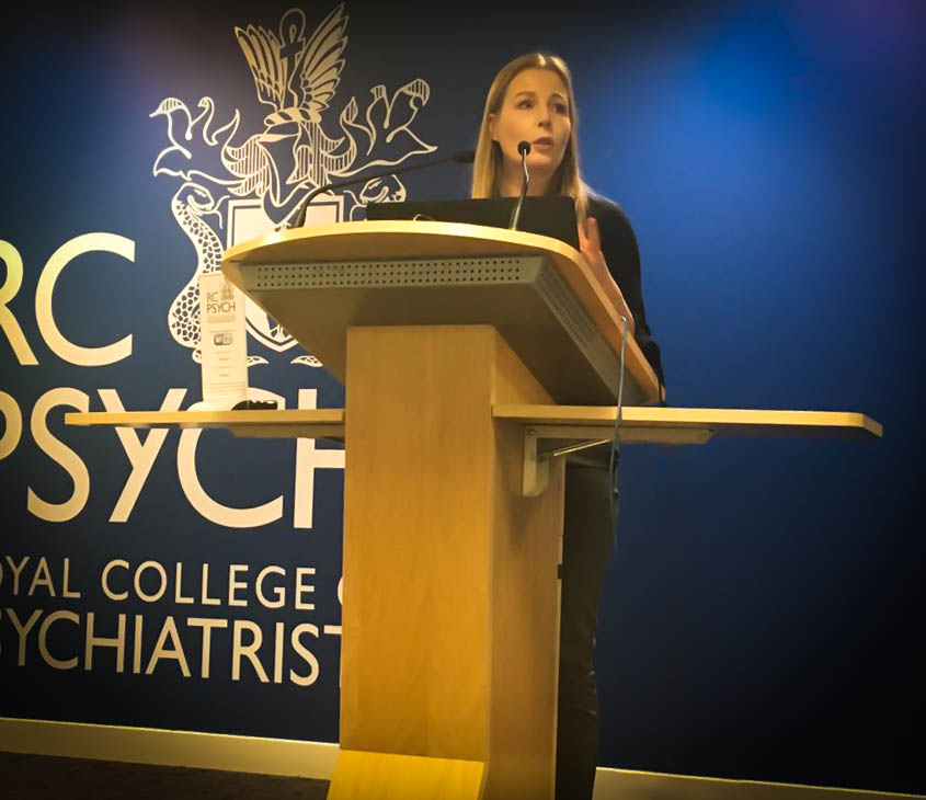 Liz chairs the Royal College conference on relational security