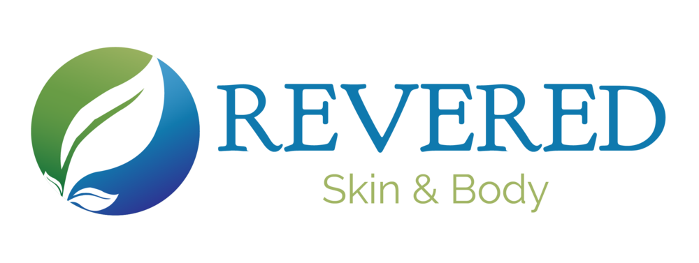 Revered Skin & Body Branding Logo