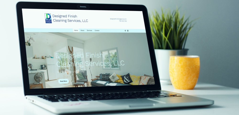 Designed Finish Cleaning Services, LLC Home Landing Page