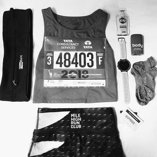 Track me tomorrow! ⚡️ #nycmarathon