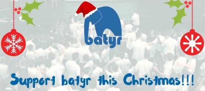 Batyr Christmas campaign