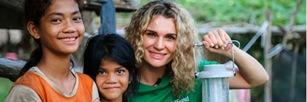 Childfund Australia - donate to buy solar lamps so kids can read again