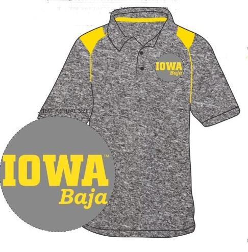 2018-19 Official Iowa Baja™ Team Polo