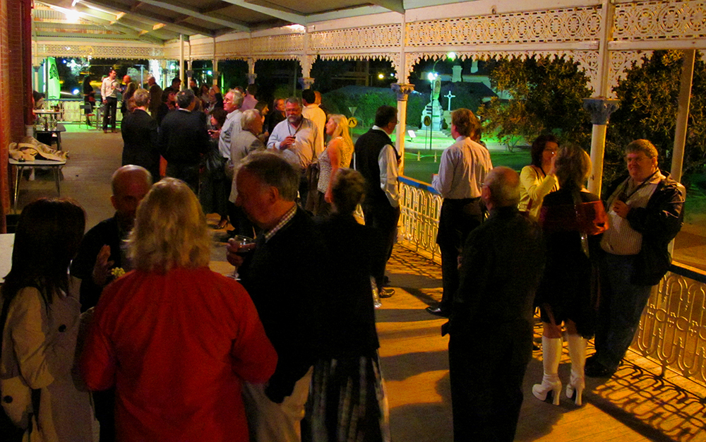 The Palace Hotel, Broken Hill is the perfect venue for your next function, book the balcony now