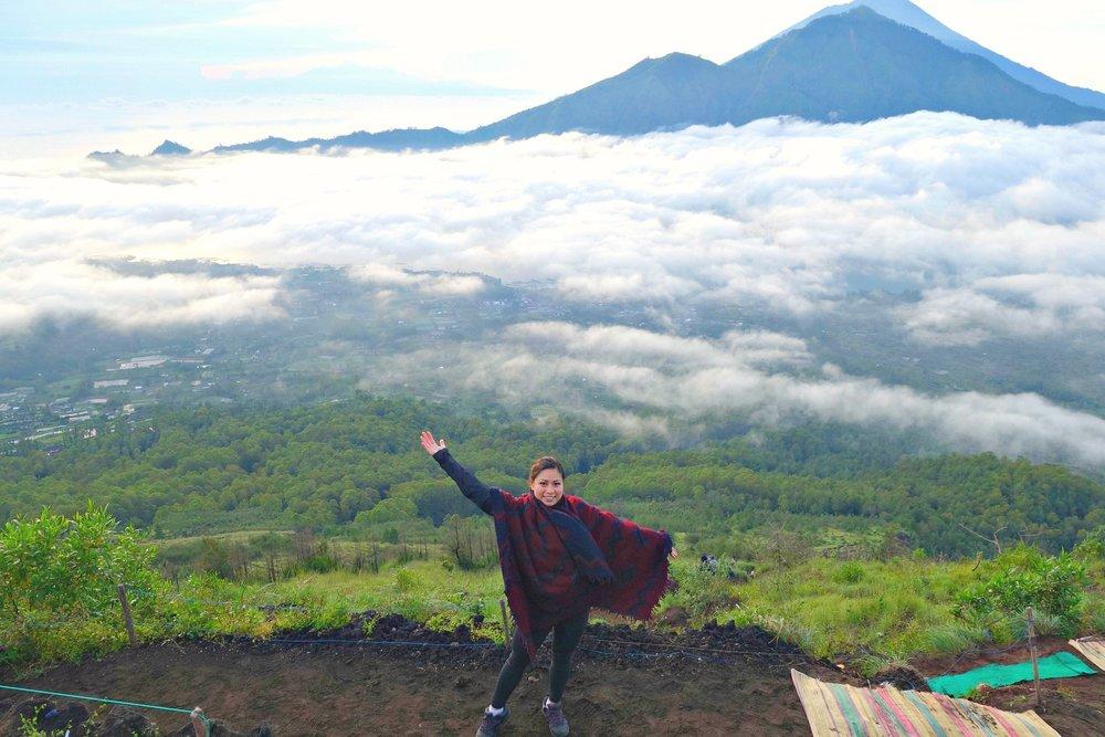 Atop Mount Batur