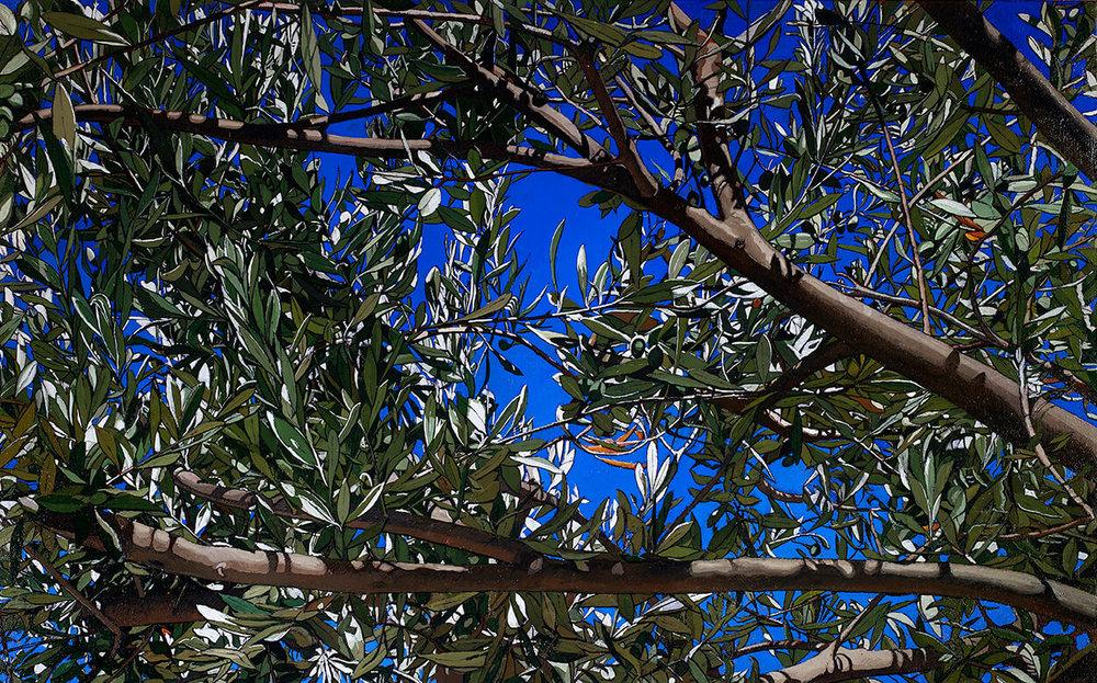 Op. 732 Gerusalemme- Dominus flevit luglio 2016 olio su tela di canapa cm 100x160