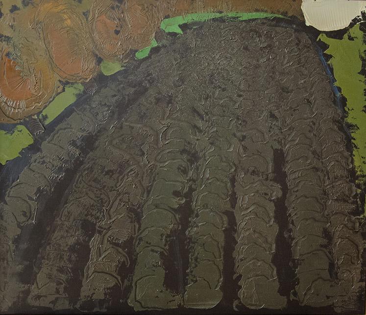 Soia Arata 2, 1993, olio su pannello, 60x70 cm