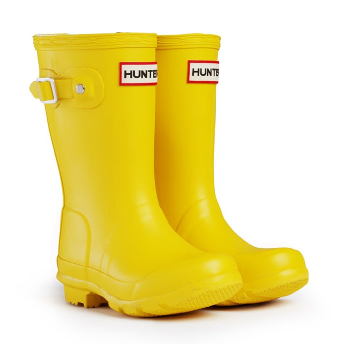 Hunter Yellow Wellies