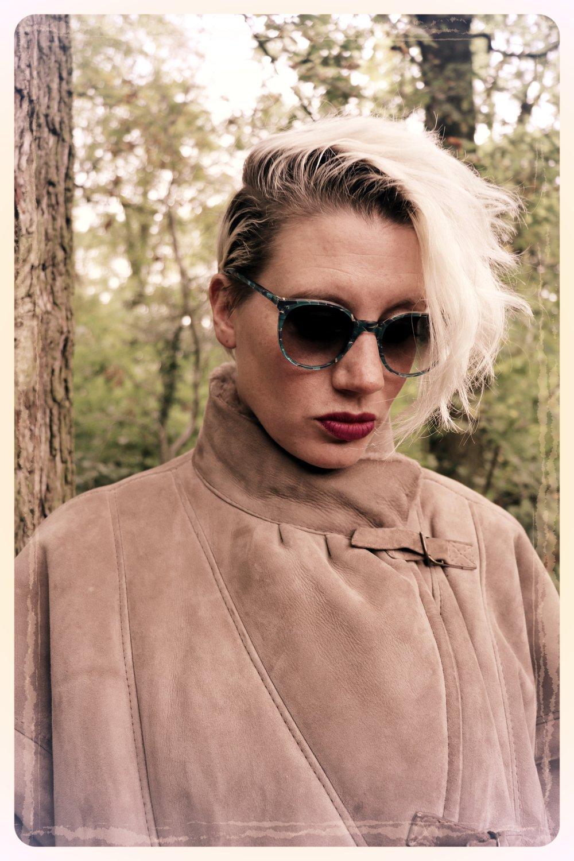 Peep Eyewear, Vintage Sunglasses, 1970s, Shore, Worn, Autumn Winter Collection