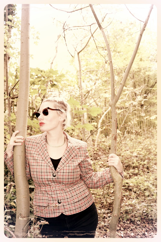 Peep Eyewear, Vintage Sunglasses, 1950s,  Carmel, Autumn Winter Collection