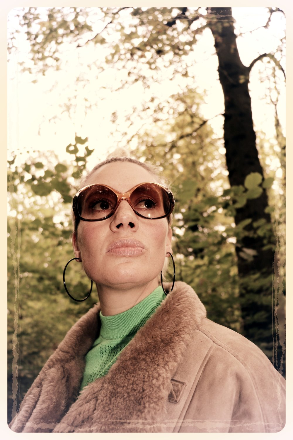 Peep Eyewear, Vintage Sunglasses, 1970s, Dawn, Autumn Winter Collection